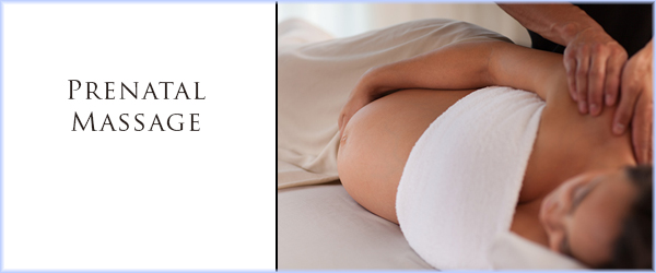 Prenatal Massage blog Website Banner Template - Banner (600x250)