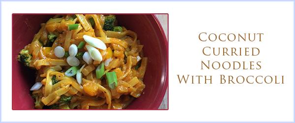 curried noodles blog Website Banner Template - Banner (600x250)